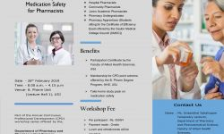 Workshop on Medication Safety for Pharmacists