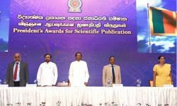 President Awards for Scientific Publication 2016
